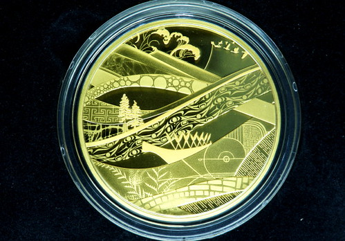 Vancouver 2010 5-Ounce 24k Gold Coin - Look of The Games ($9,459.95) at the Royal Canadian Mint