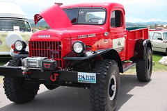 Dodge Power Wagon (stevencook) Tags: dodge mopar wyoming 1949 jacksonhole 2010 tetonvillage powerwagon tetoncounty stevencook silvercarauction stevencookrealtor