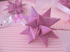 Estrela * (Estefnia Zica) Tags: paper star origami estrela papel estefaniazica cabeadepapel fanazica fanacoelho fanabezica