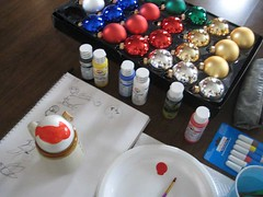Handpainted Christmas Ornaments 2