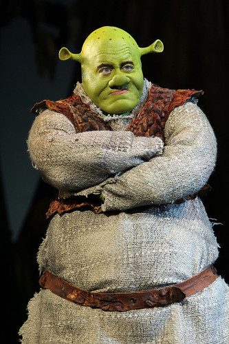 Shrek The Musical.Cadillac Palace Theatre..