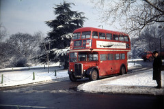 RT3297 in the snow (John A King) Tags: snow bus rt chislehurst londontransport rt3297 route161a