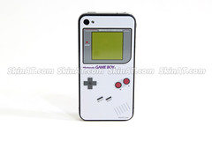 Game Boy keyboard iPhone 4 Skin Decal Sticker vinyl