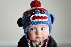 [フリー画像] 人物, 子供, 赤ちゃん, 帽子・キャップ, アメリカ人, 201012040700