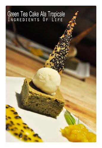 Greentea Cake