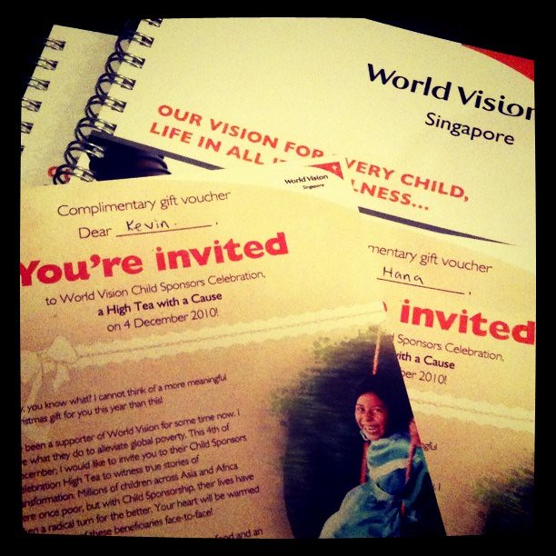 Accompanying @hanababana for a World Vision Singapore talk. CNA & ChannelU here as well!