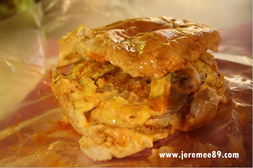 Pos Burger Jelutong - Baby Egg Burger