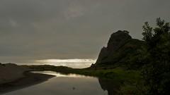 Twilight at Karekare Beach (NUkiwi) Tags: newzealand auckland tasmansea westcoast karekarebeach afszoomnikkor2470mmf28ged