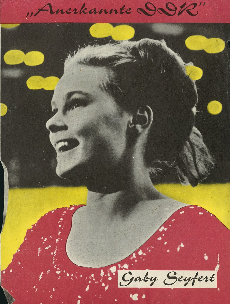 Anerkannte DDR: Gaby Seyfert.