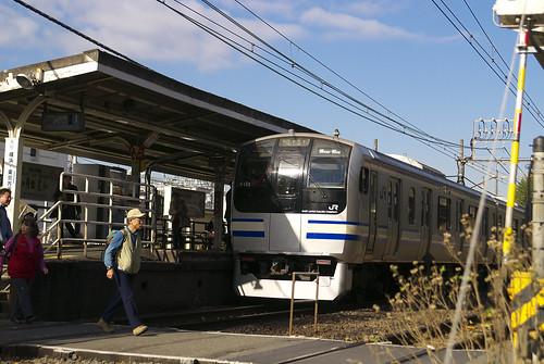 北鎌倉駅と横須賀線