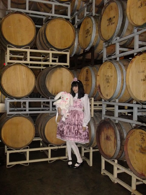 By The Wine Barrels