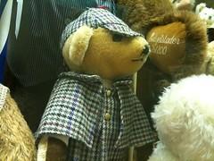 Bear Spotting Adventures October Sherlock Holmes Bear