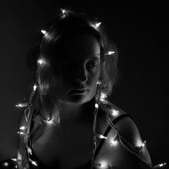 10/52 (heathre) Tags: light bw lightbulb lights lowlight mary halo virgin sp always loved 1052 3752 52weeks