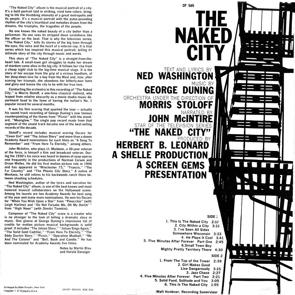 George Duning - The Naked City