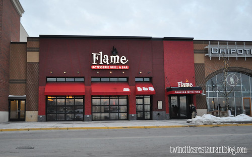 Flame Rotisserie Grill and Bar ~ Roseville, MN