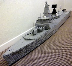 HMS Ardent Forward 1 (Babalas Shipyards) Tags: ship lego navy frigate warship moc minifigurescale