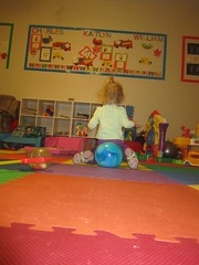 IMG_4815 (drjeeeol) Tags: baby ball katie triplet 2010 26monthsold 26onthsold