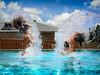 Pool fun (dazza17 - DJ) Tags: fujiunderwaterdarienfriends