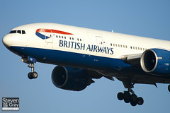 G-VIIU - 29963 - British Airways - Boeing 777-236ER - 101205 - Heathrow - Steven Gray - IMG_5412