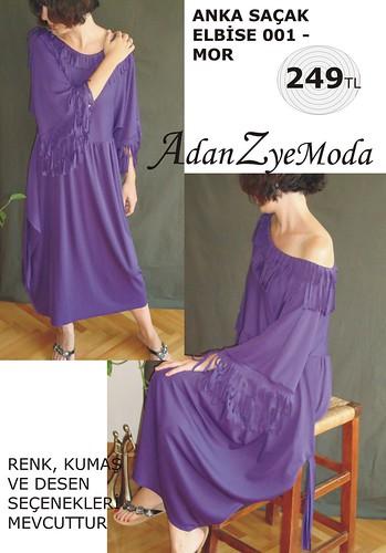 Anka Sacak Elbise 001 purple-A