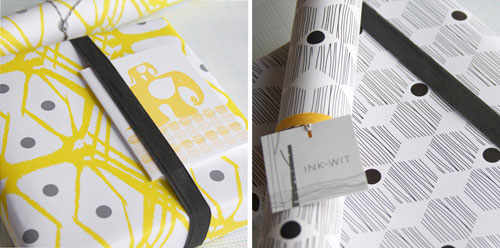 Ink & Wit gift wrap