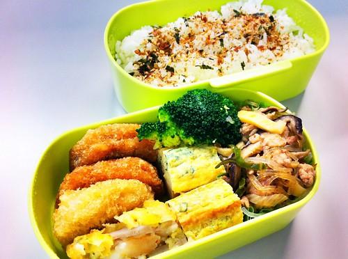 今日のお弁当 No.74 – 鰹