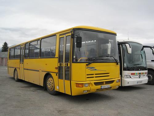 Autobus a Les Guinguetes (Cerdanya)