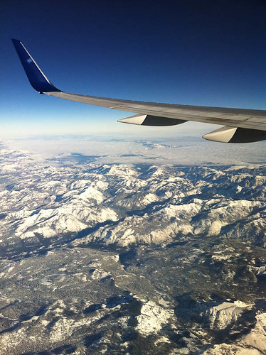 Wing And Snowy Mountains