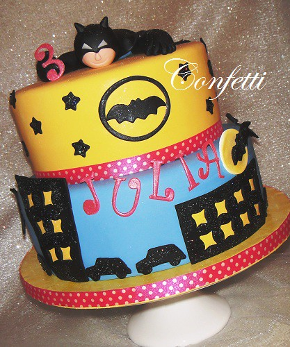 Batman Cake for Julia