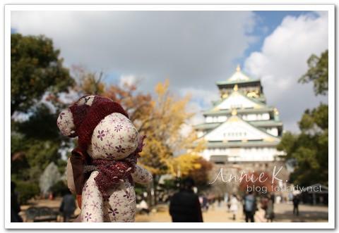 大阪城小熊