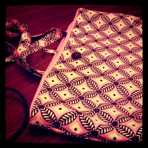 I made a bag!