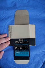 Polaroid Highlander Model 80A Film Box - flat view (faithapatton) Tags: camera vintage polaroid highlander retro landcamera ohthanks