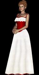 dressy girl - RuthArt - by RuthArt