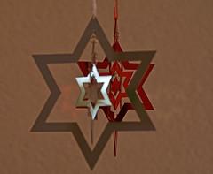 stern03 (SchweDan) Tags: christmas red rot silver star decoration stern