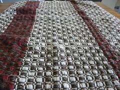 wobbled scarf (D-Apostrofo) Tags: scarf sciarpa handwoven handweaving tessuto artigianale tessitura loomweaving
