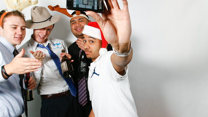 NorPac Christms Photo Booth