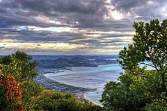 Uchibou Excellence 3 (JRaptor) Tags: ocean mountain japan clouds landscape nikon scenery cliffs chiba hdr 3ds tateyama tokyobay futtsu nihonji nokogiriyama uchibou