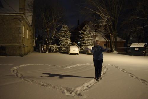 Snow Toss