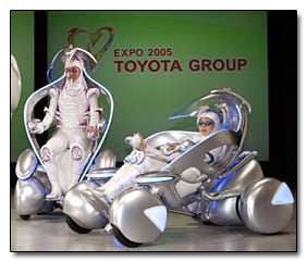 Toyota Personal Mobility Concepts