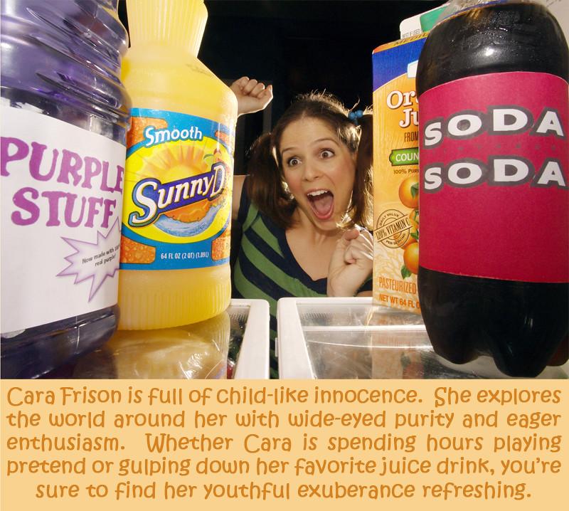 OJ, Soda, Purple Stuff....Sunny D!