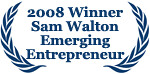Staged4more Sam Walton Emerging Entrepreneur Award