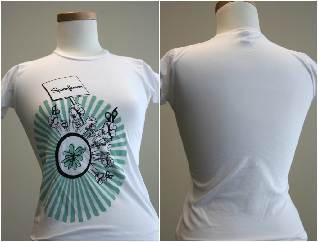 Spoonflower t-shirts!