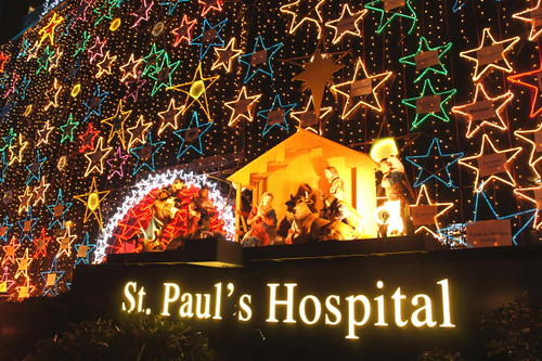 Happy Holidays! St. Paul Hospital 2010 Lichter der Hoffnung Charity Spendenaktion