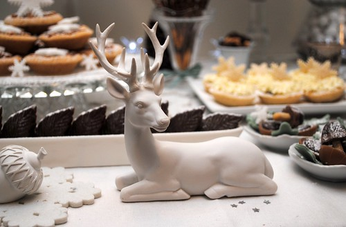 Deer on the dessert table