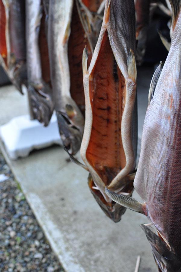 塩引き鮭~笹川流れ