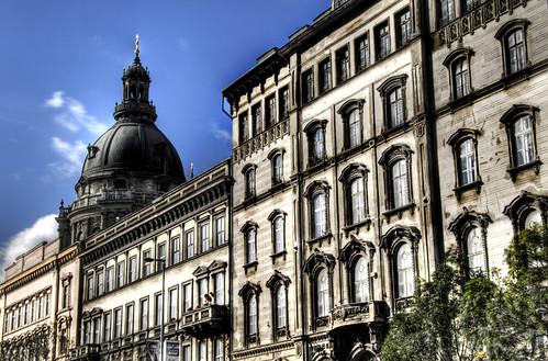 Andrassy avenue. Budapest. Avenida Andrassy