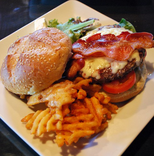 Great Escape Bacon-Cheeseburger