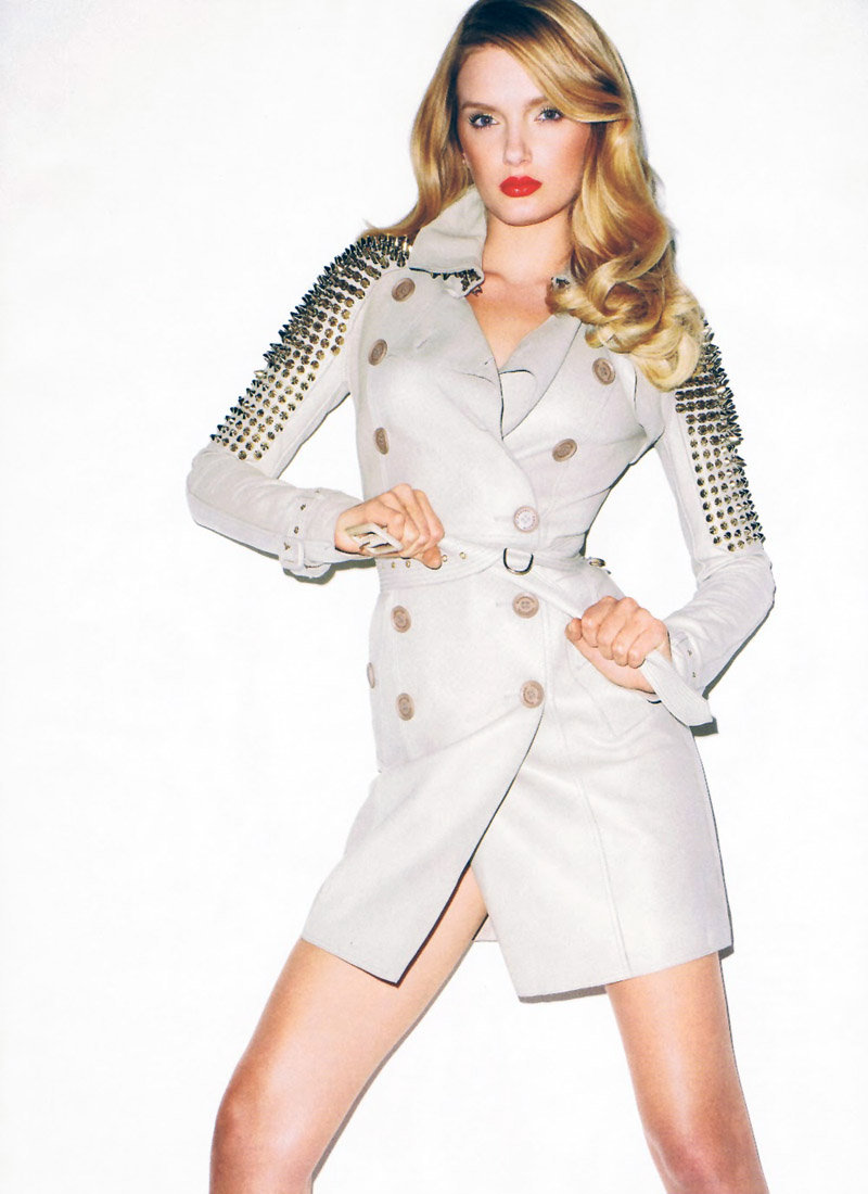 DIY inspiration studded trench coat tiLily Donaldson Terry Richardson