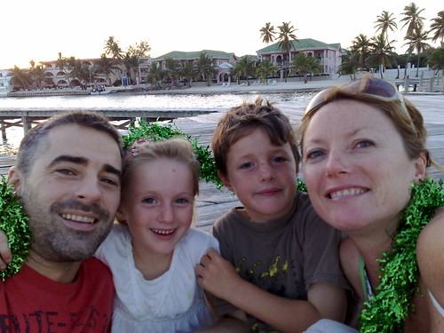 Pearce family Xmas belize 2010