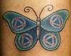 AA Butterfly Tattoo Tattoo by Tim